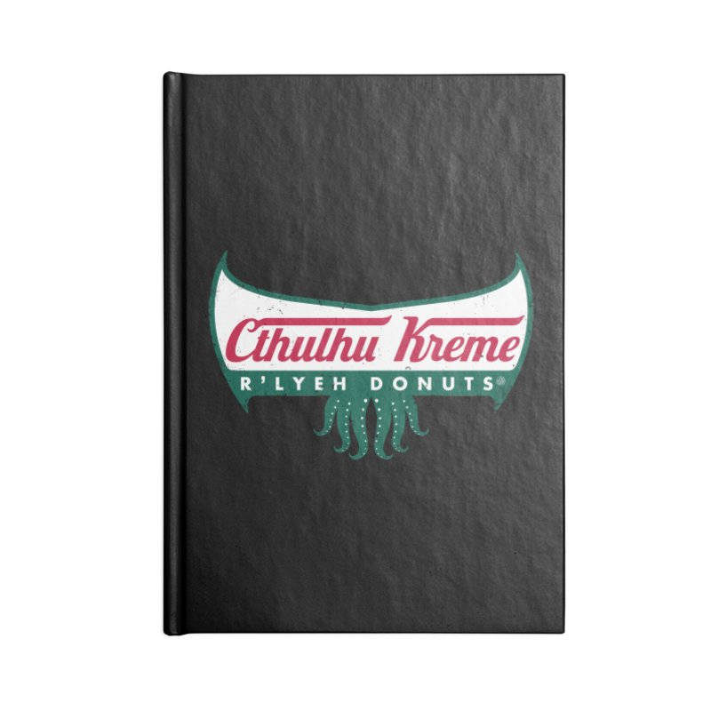 R'lyeh Donuts Accessories Notebook by Pigboom's Artist Shop