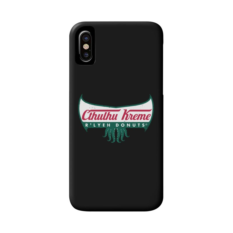 R'lyeh Donuts Accessories Phone Case by Pigboom's Artist Shop