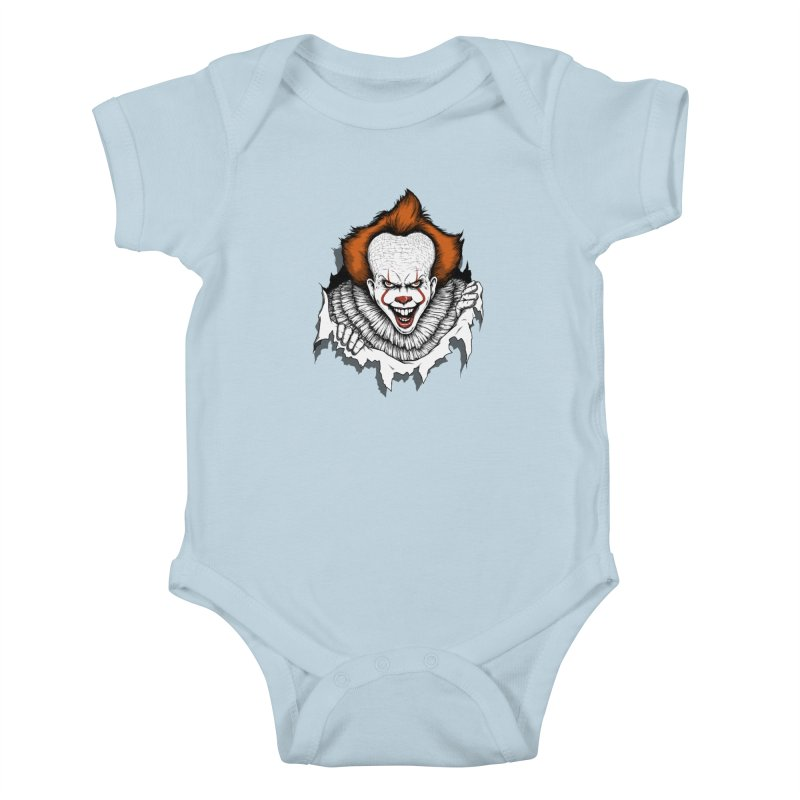 Let's Float Kids Baby Bodysuit by Pigboom's Artist Shop