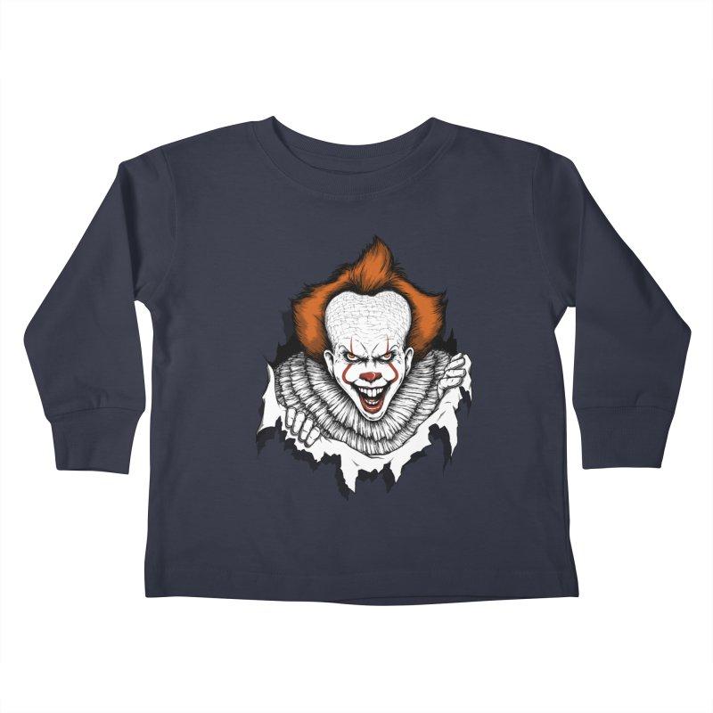 Let's Float Kids Toddler Longsleeve T-Shirt by Pigboom's Artist Shop