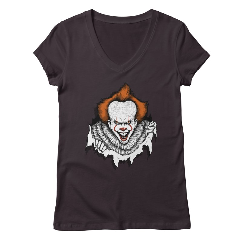 Let's Float Women's V-Neck by Pigboom's Artist Shop