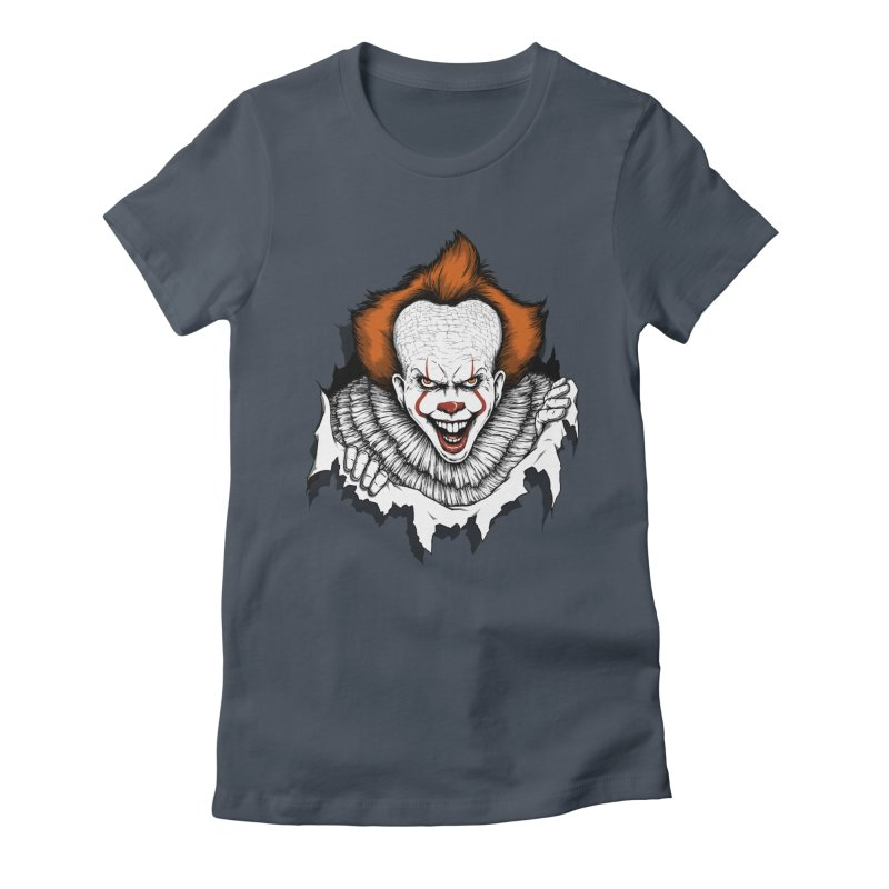 Let's Float Women's Fitted T-Shirt by Pigboom's Artist Shop