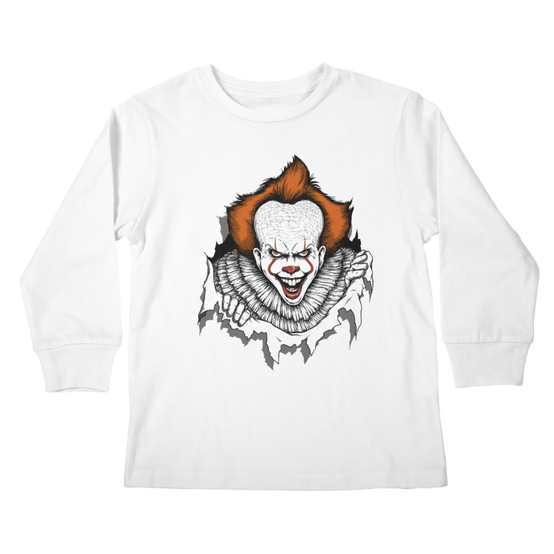 Let's Float Kids Longsleeve T-Shirt by Pigboom's Artist Shop