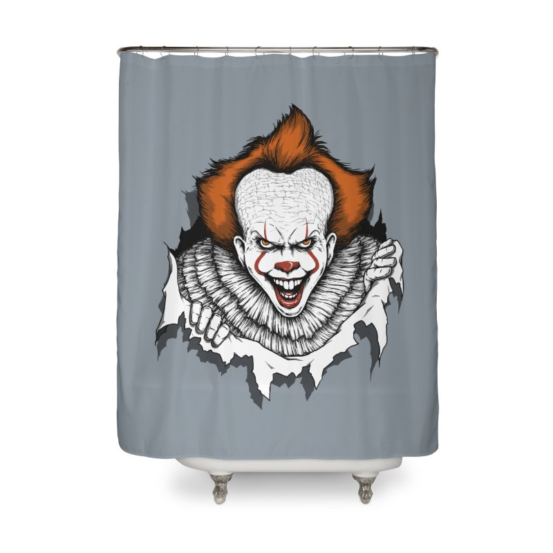 Let's Float Home Shower Curtain by Pigboom's Artist Shop