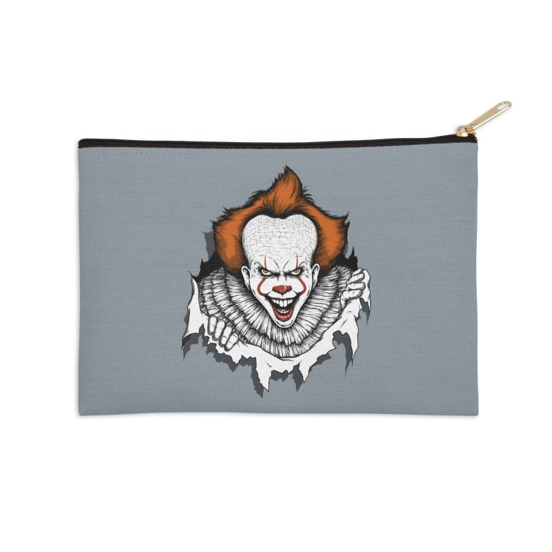 Let's Float Accessories Zip Pouch by Pigboom's Artist Shop
