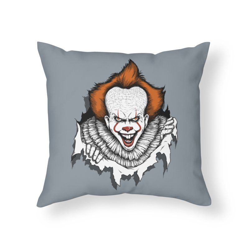 Let's Float Home Throw Pillow by Pigboom's Artist Shop