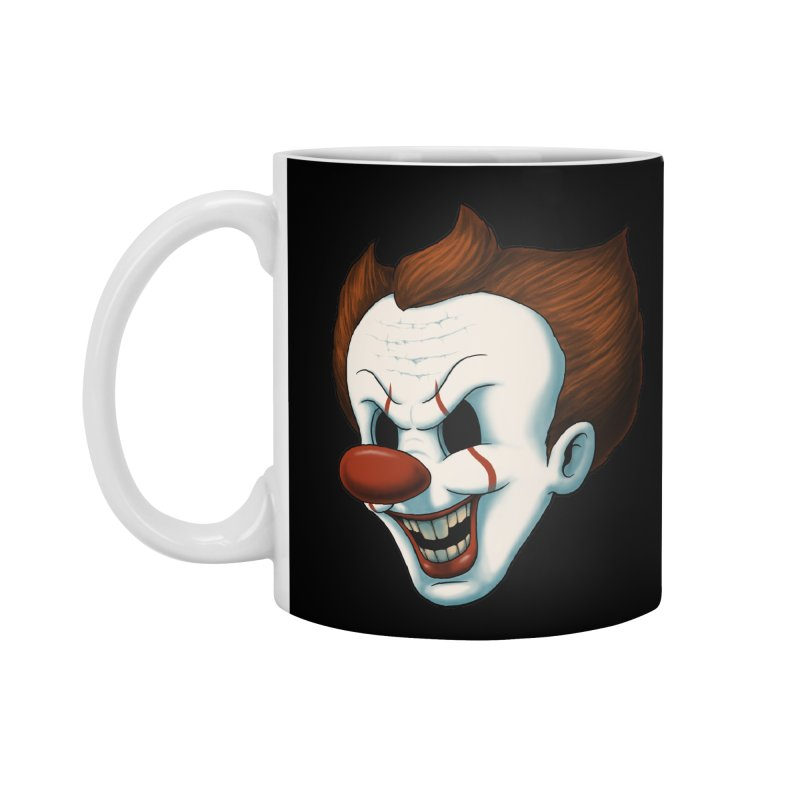 The Dancing Clown Accessories Mug by Pigboom's Artist Shop