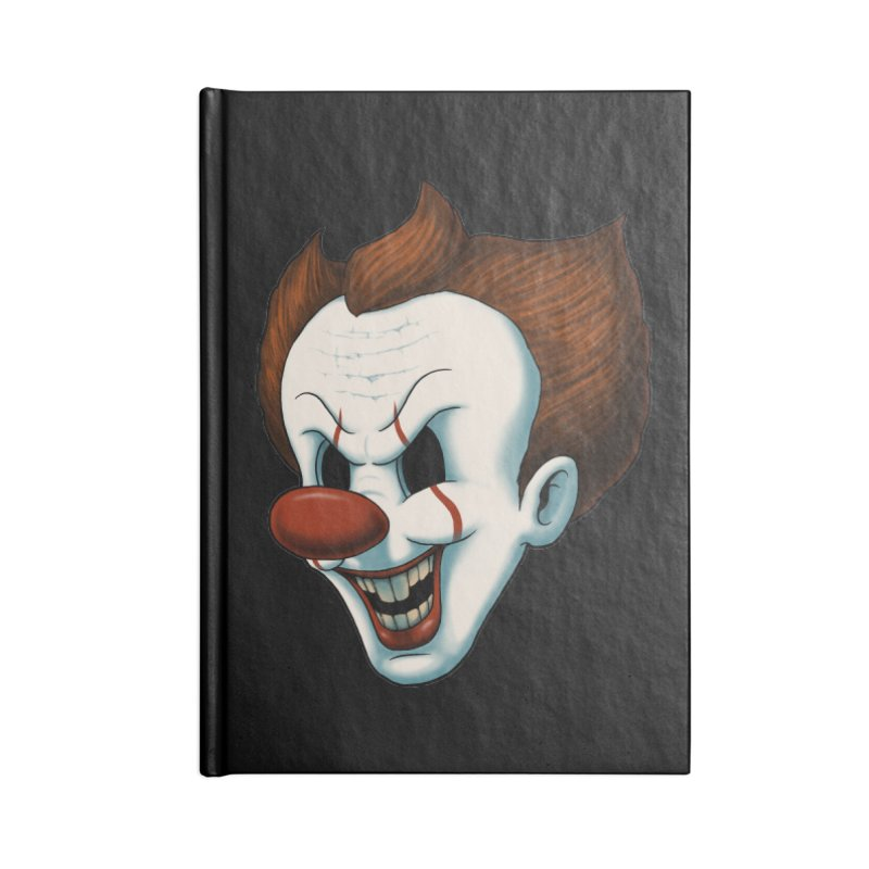 The Dancing Clown Accessories Notebook by Pigboom's Artist Shop