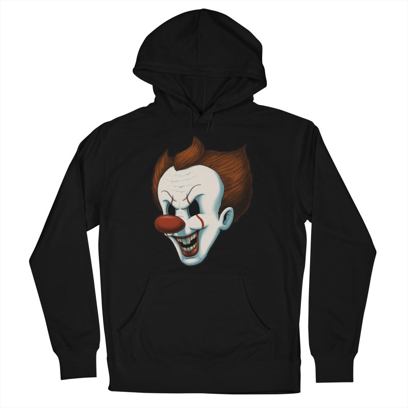 The Dancing Clown Men's Pullover Hoody by Pigboom's Artist Shop