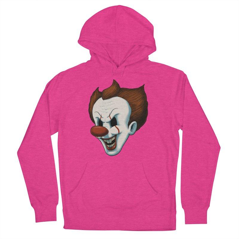 The Dancing Clown Men's Pullover Hoody by Pigboom's Artist Shop