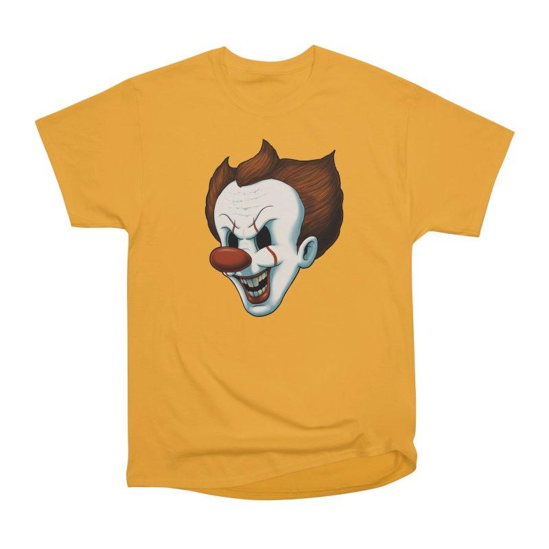 The Dancing Clown Women's Classic Unisex T-Shirt by Pigboom's Artist Shop