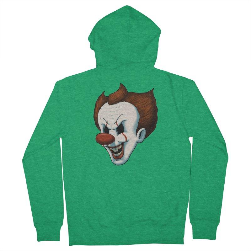 The Dancing Clown Men's Zip-Up Hoody by Pigboom's Artist Shop
