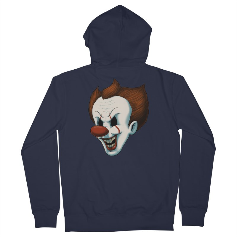 The Dancing Clown Men's Zip-Up Hoody by Pigboom's Artist Shop