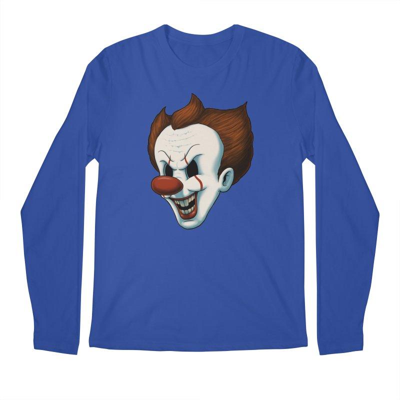 The Dancing Clown Men's Longsleeve T-Shirt by Pigboom's Artist Shop