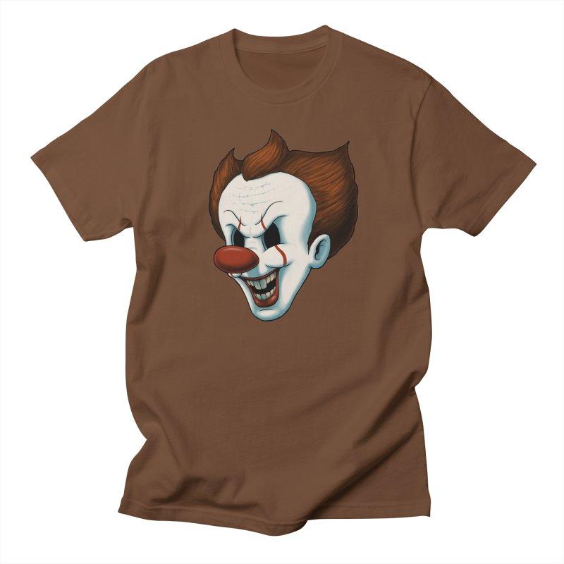 The Dancing Clown Men's T-Shirt by Pigboom's Artist Shop