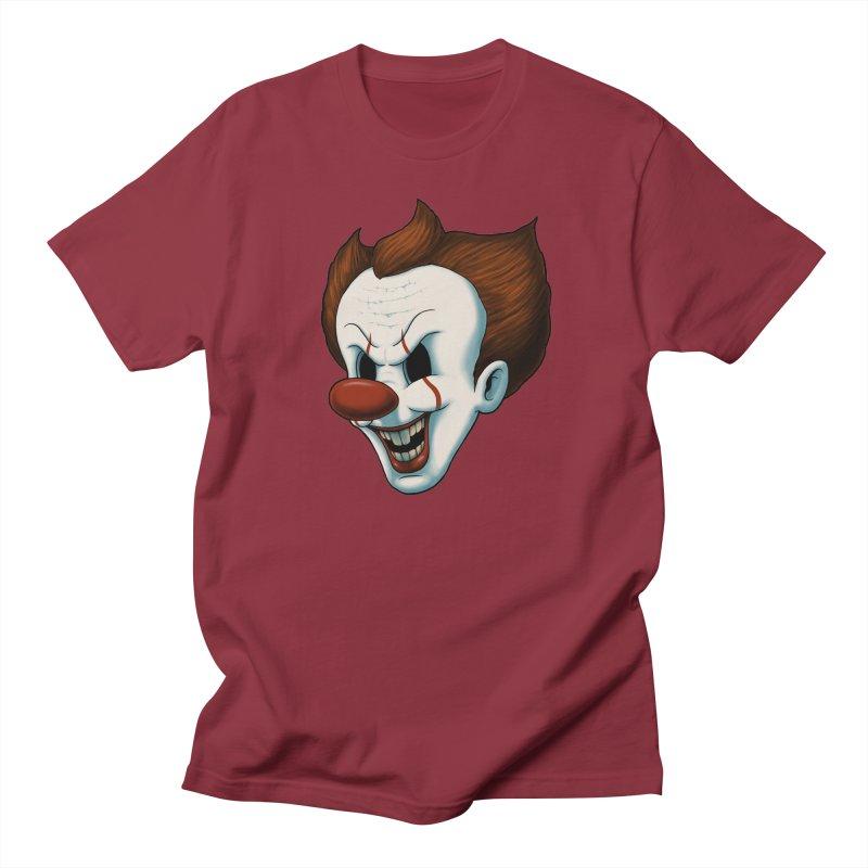 The Dancing Clown Women's Unisex T-Shirt by Pigboom's Artist Shop