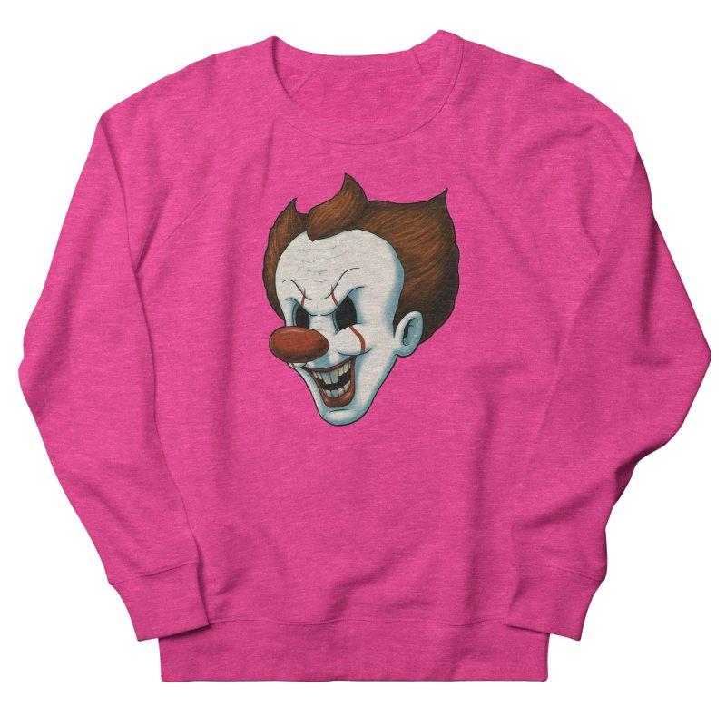 The Dancing Clown Women's Sweatshirt by Pigboom's Artist Shop