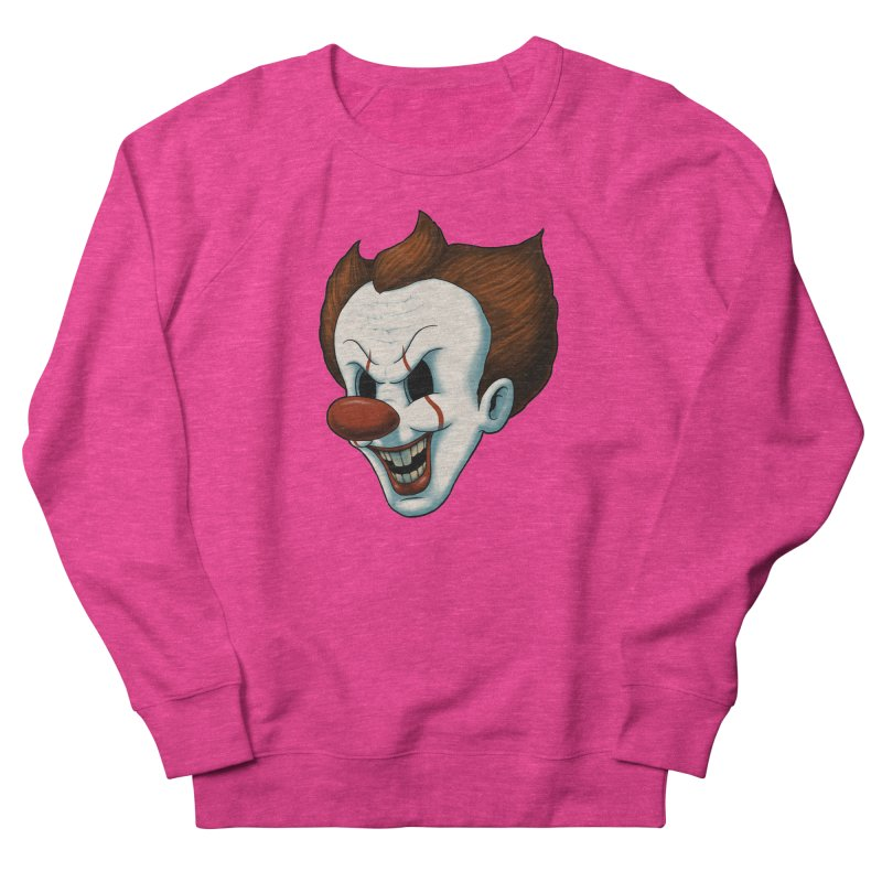 The Dancing Clown Men's Sweatshirt by Pigboom's Artist Shop