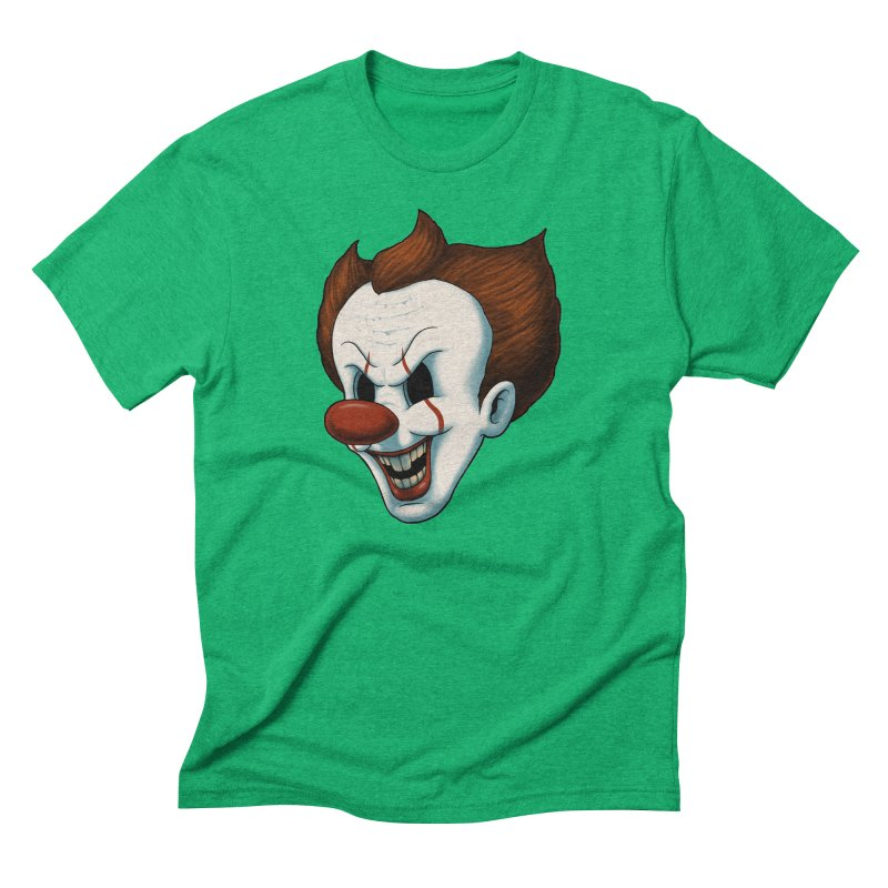 The Dancing Clown Men's Triblend T-Shirt by Pigboom's Artist Shop