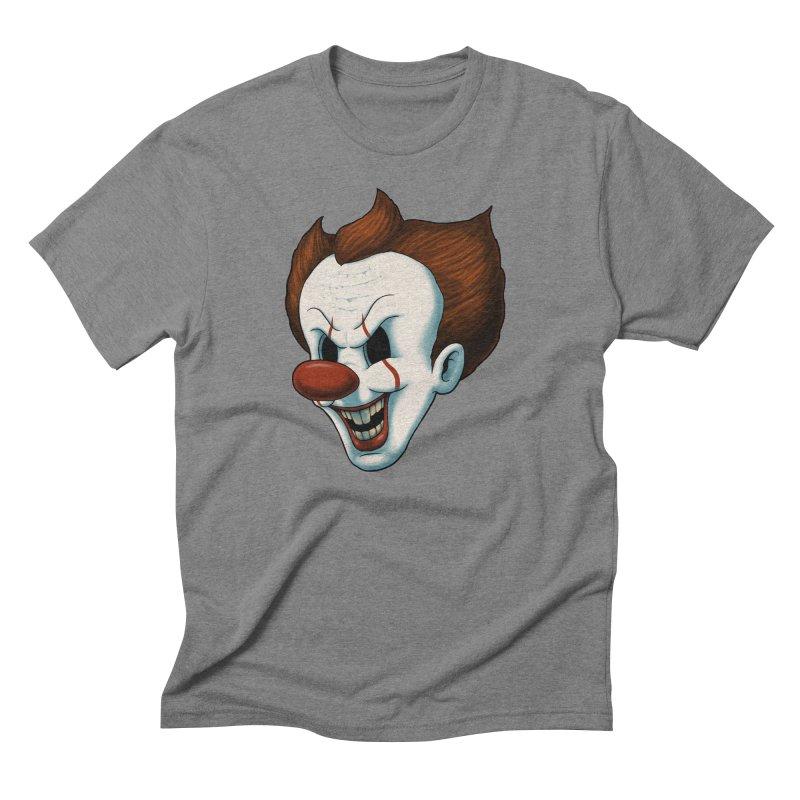 The Dancing Clown Men's Triblend T-Shirt by Pigboom's Artist Shop