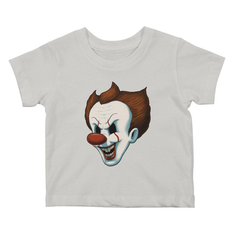 The Dancing Clown Kids Baby T-Shirt by Pigboom's Artist Shop