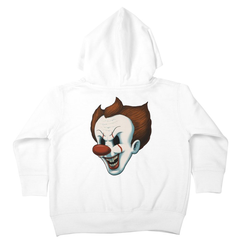 The Dancing Clown Kids Toddler Zip-Up Hoody by Pigboom's Artist Shop
