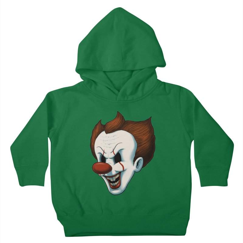 The Dancing Clown Kids Toddler Pullover Hoody by Pigboom's Artist Shop