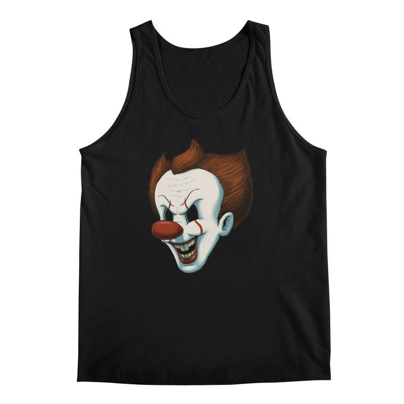 The Dancing Clown Men's Tank by Pigboom's Artist Shop