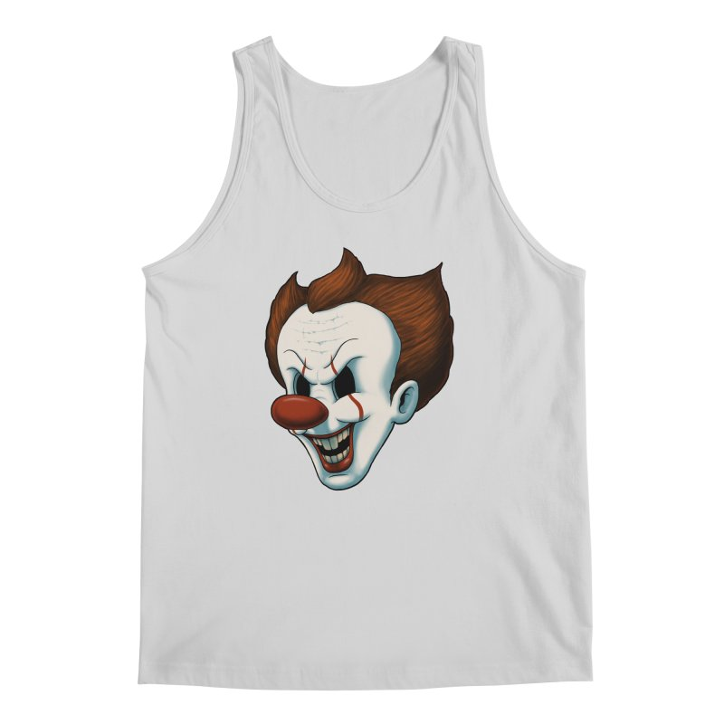 The Dancing Clown Men's Tank by Pigboom's Artist Shop