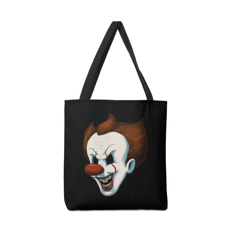 The Dancing Clown Accessories Bag by Pigboom's Artist Shop