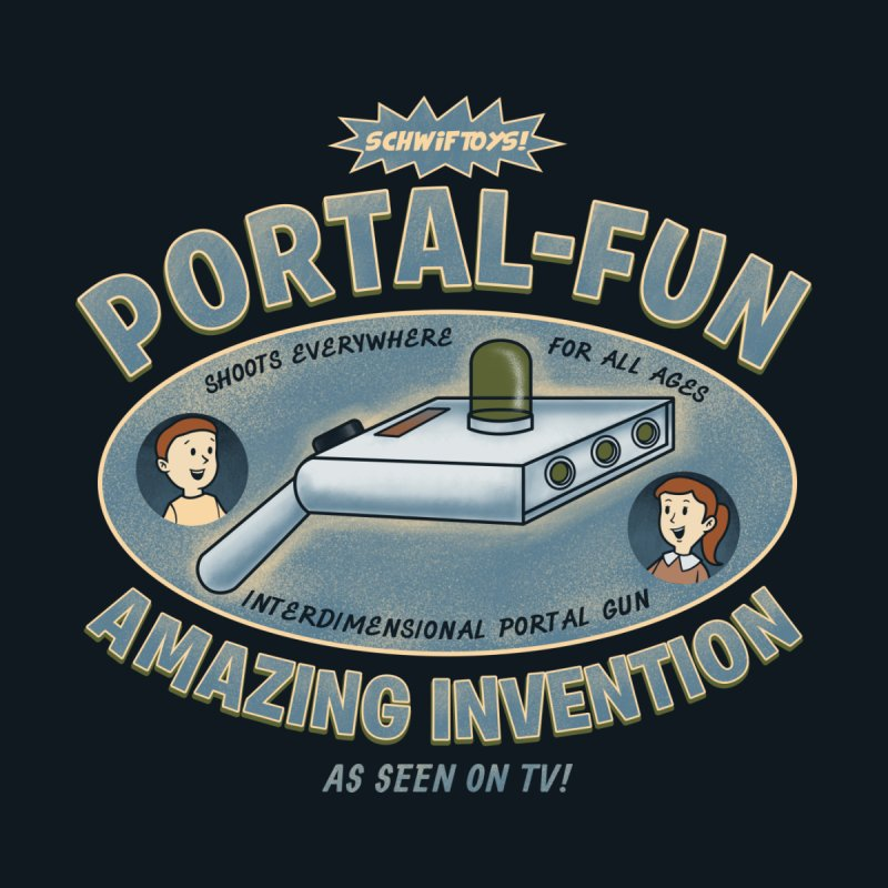 Portal Fun by Pigboom's Artist Shop