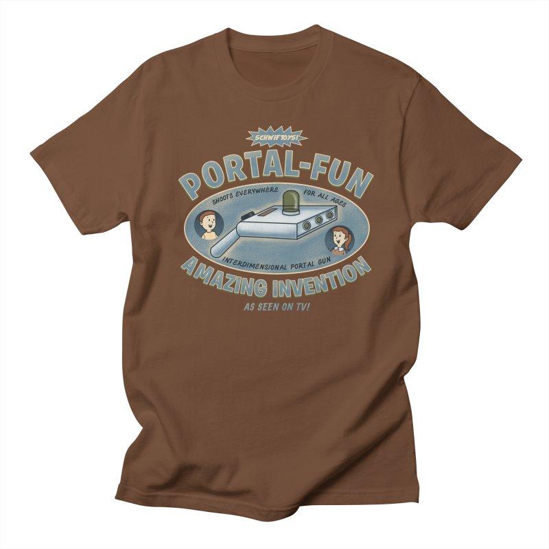 Portal Fun Women's Unisex T-Shirt by Pigboom's Artist Shop