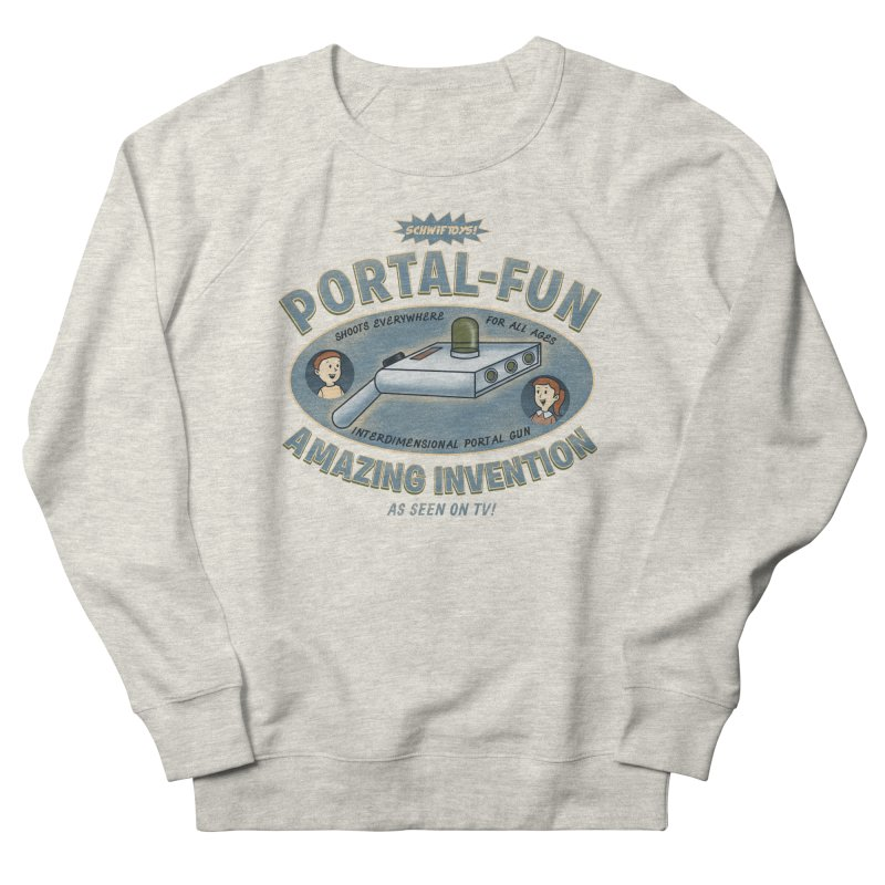 Portal Fun Men's Sweatshirt by Pigboom's Artist Shop