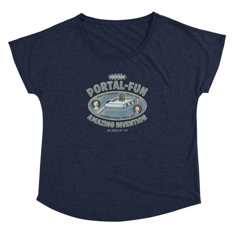 Portal Fun Women's  by Pigboom's Artist Shop