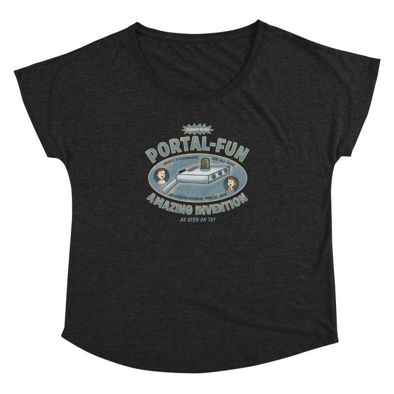 Portal Fun Women's Dolman by Pigboom's Artist Shop