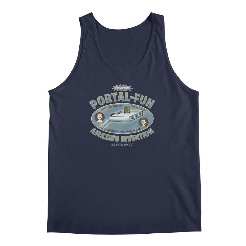 Portal Fun Men's Tank by Pigboom's Artist Shop