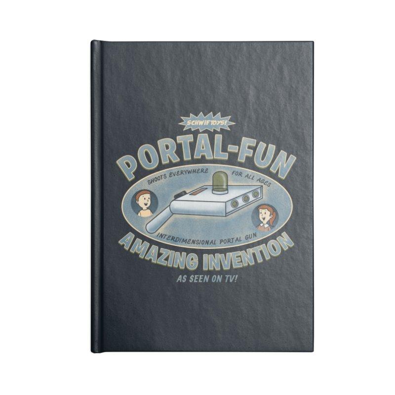 Portal Fun Accessories Notebook by Pigboom's Artist Shop