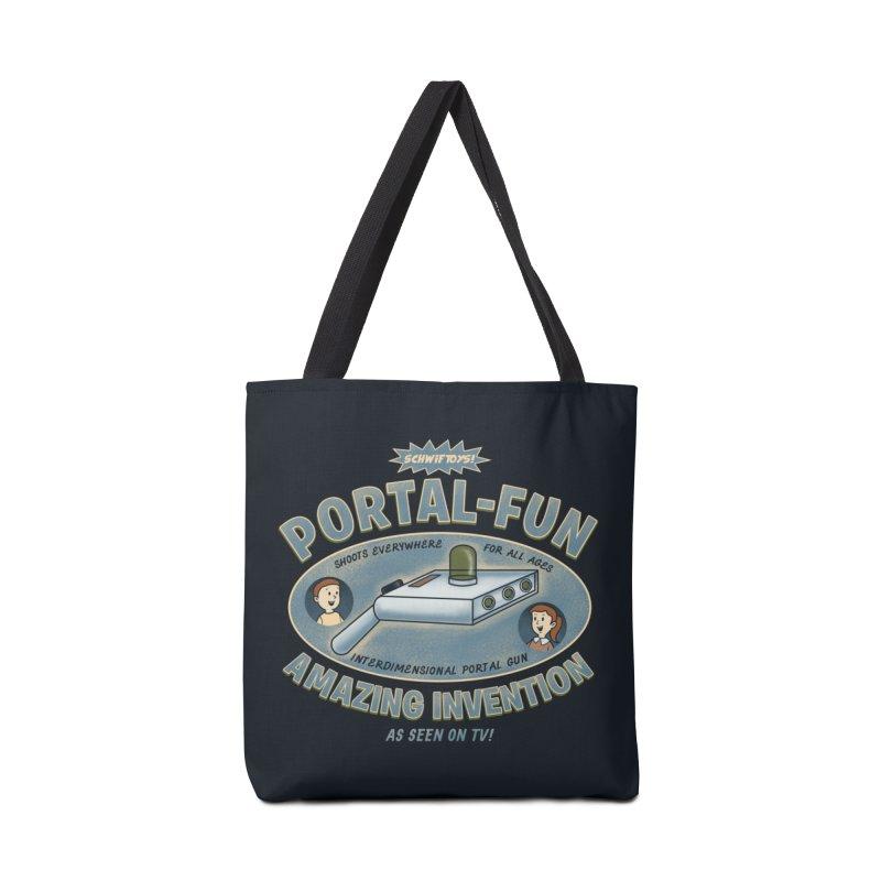 Portal Fun Accessories Bag by Pigboom's Artist Shop