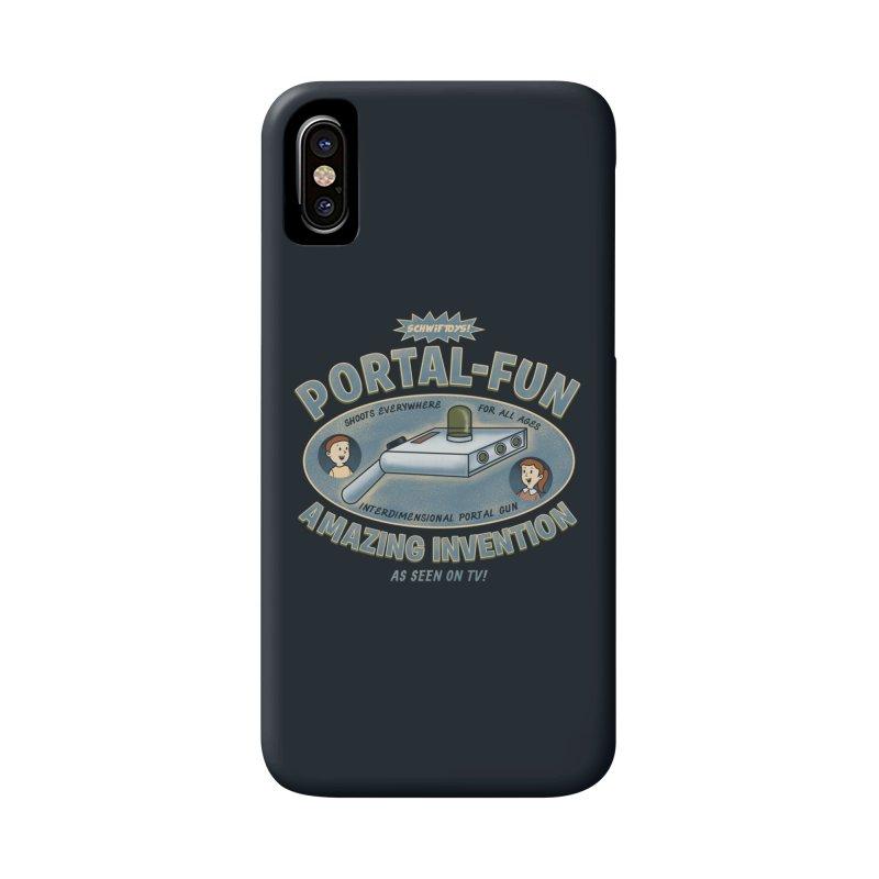 Portal Fun Accessories Phone Case by Pigboom's Artist Shop