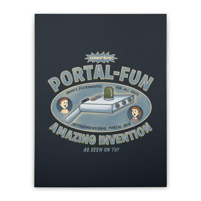 Portal Fun Home  by Pigboom's Artist Shop