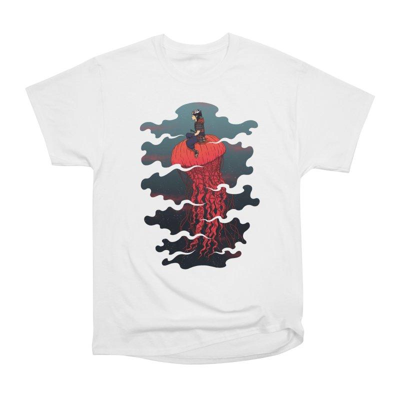 The Wanderer Men's Heavyweight T-Shirt by Pigboom's Artist Shop