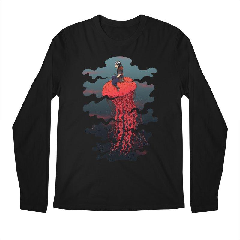 The Wanderer Men's Longsleeve T-Shirt by Pigboom's Artist Shop