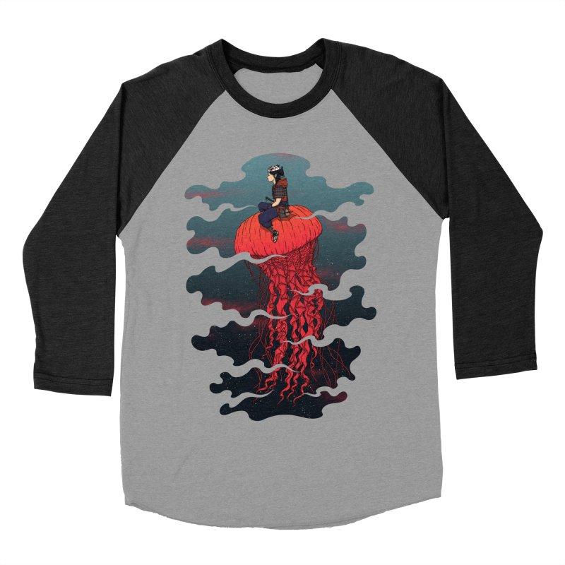 The Wanderer Women's Baseball Triblend T-Shirt by Pigboom's Artist Shop