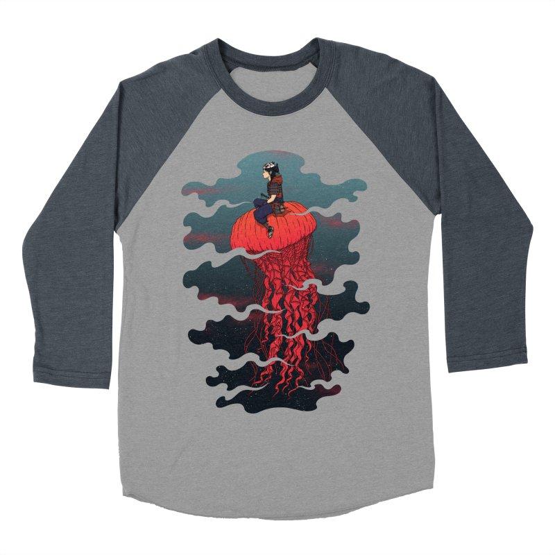The Wanderer Men's Baseball Triblend T-Shirt by Pigboom's Artist Shop