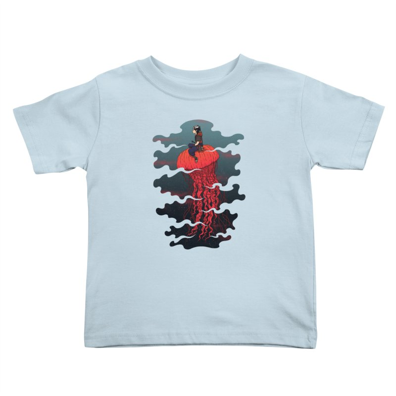 The Wanderer Kids Toddler T-Shirt by Pigboom's Artist Shop