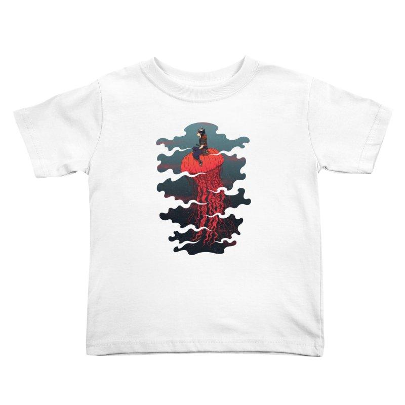 The Wanderer Kids Toddler T-Shirt by Pigboom's Artist Shop