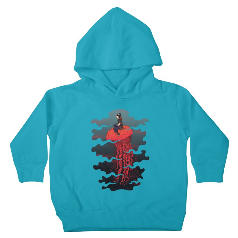 The Wanderer Kids Toddler Pullover Hoody by Pigboom's Artist Shop