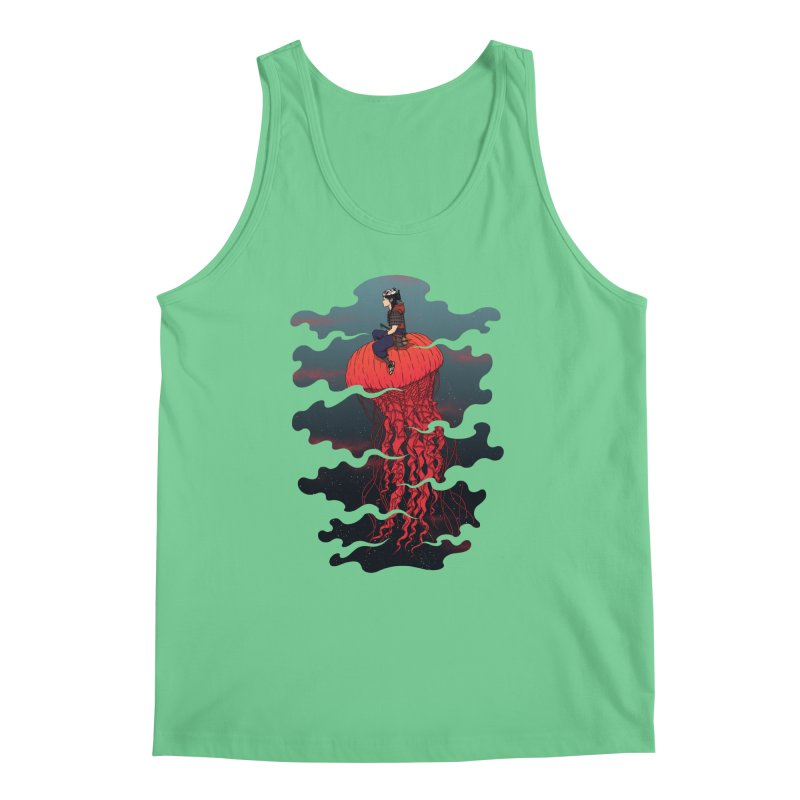 The Wanderer Men's Tank by Pigboom's Artist Shop