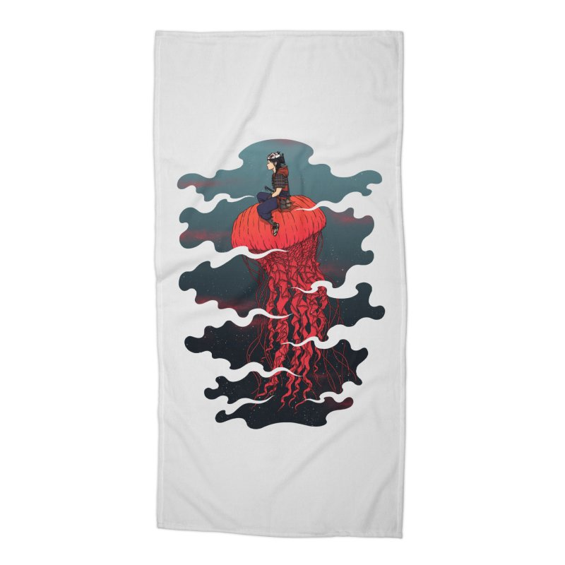 The Wanderer Accessories Beach Towel by Pigboom's Artist Shop