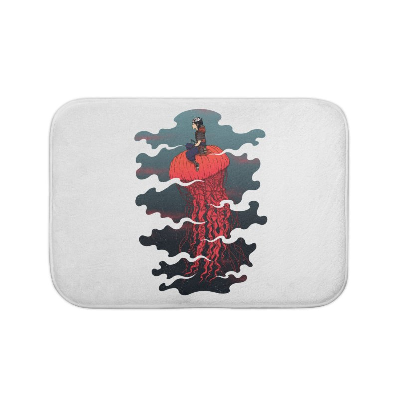 The Wanderer Home Bath Mat by Pigboom's Artist Shop